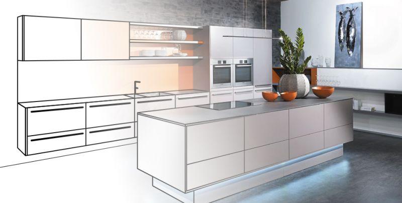 Hochwertige Elektrogeräte Machen Eine Gute Küche Komplett Spilger