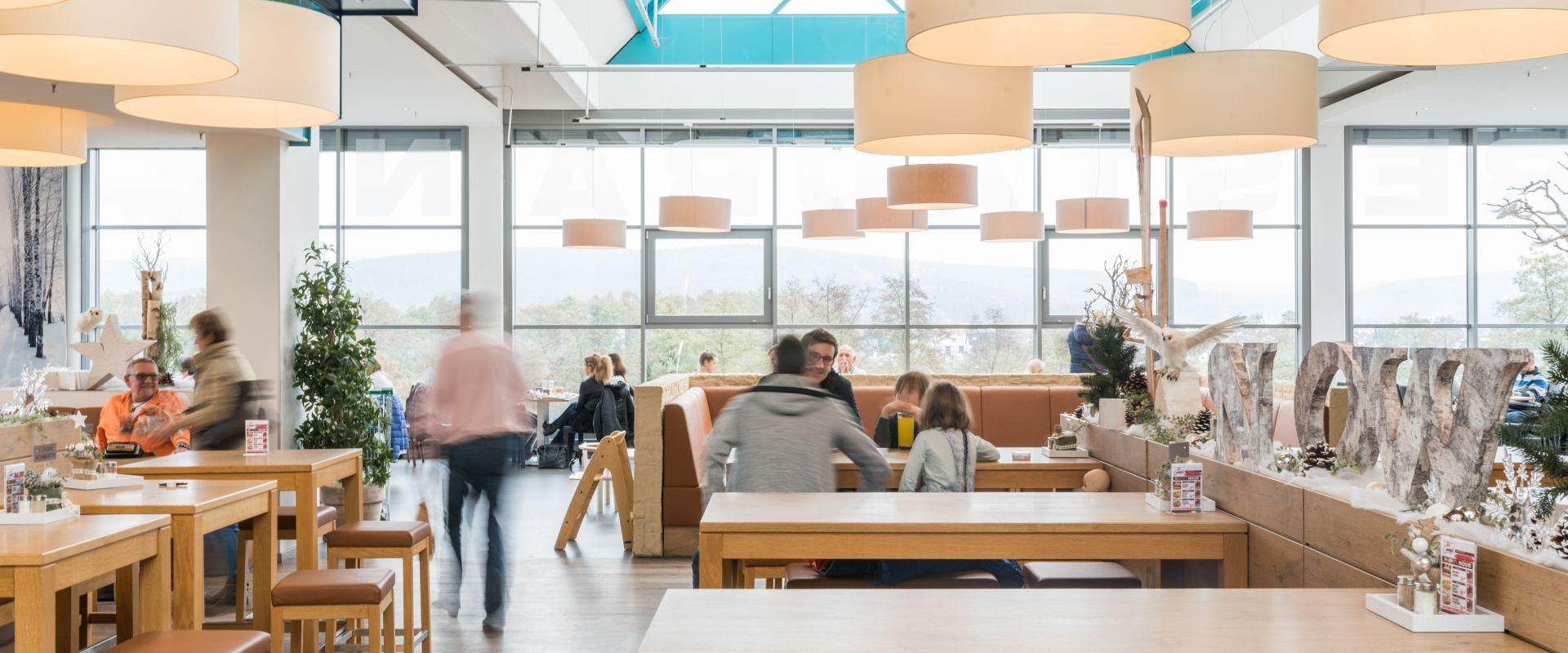 Restaurant Mit Panorama Blick Spilgerde